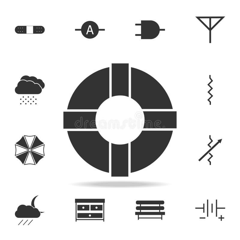 Icône de balise de vie Ensemble détaillé d'icônes de Web Conception graphique de qualité de la meilleure qualité Une des icônes d illustration de vecteur