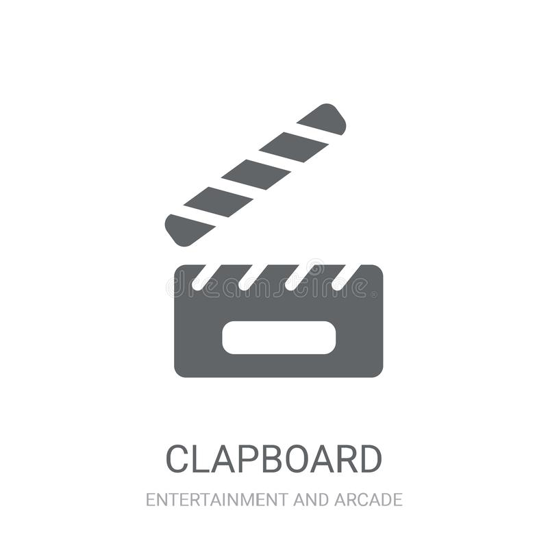 Icône de bardeau  illustration stock