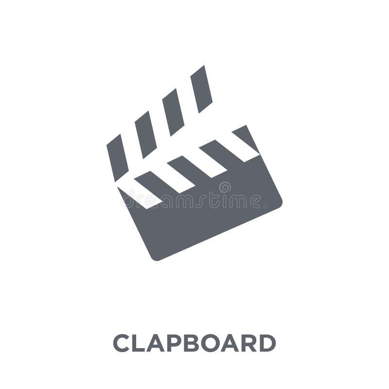Icône de bardeau de collection de divertissement illustration libre de droits