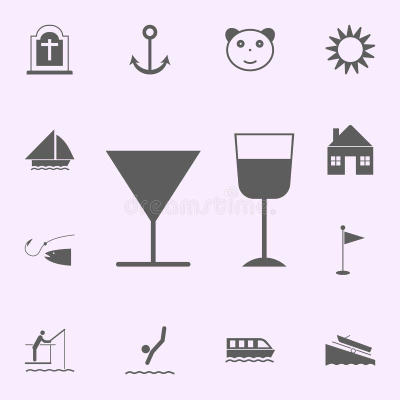 icône de barre d'endroit signes d'ensemble universel d'ic?nes de goupilles pour le Web et le mobile illustration de vecteur