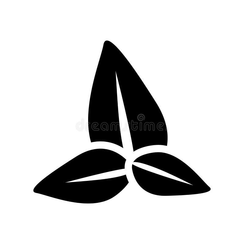 icône de basilic  illustration stock