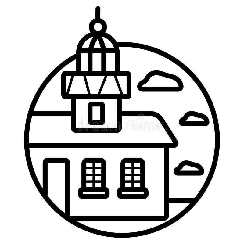 Icône de Belgrade, Serbie illustration libre de droits