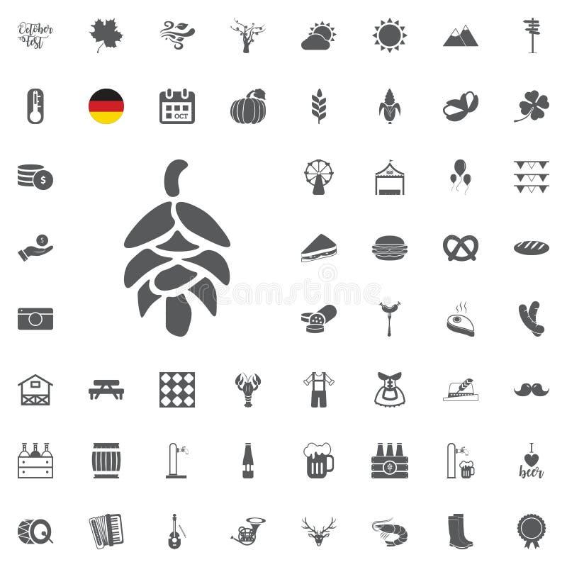 Icône de bière illustration stock