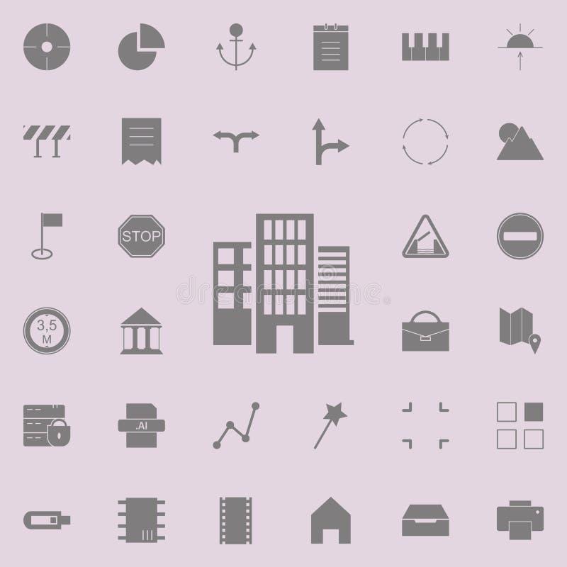 Icône de Bluetooth ensemble universel d'icônes de Web pour le Web et le mobile illustration stock