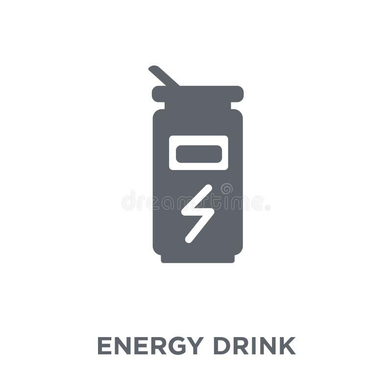 Icône de boissons d'énergie de collection de boissons illustration libre de droits