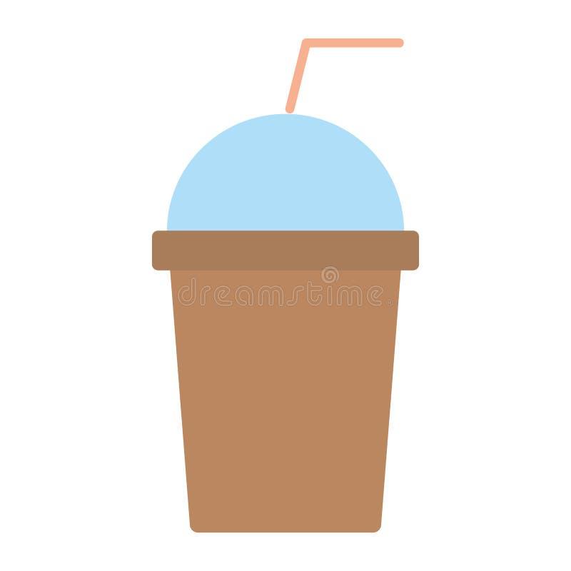 Icône de boissons de Smoothie illustration libre de droits