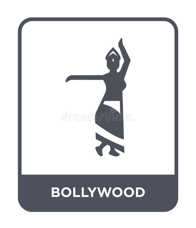 icône de bollywood dans le style à la mode de conception icône de bollywood d'isolement sur le fond blanc appartement simple et m illustration de vecteur