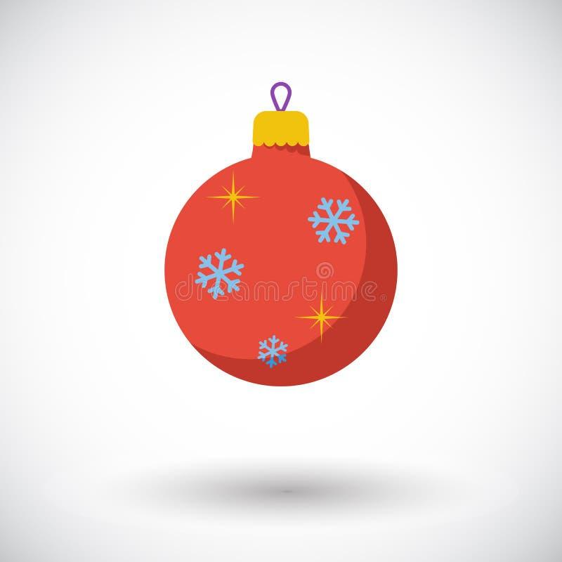 Icône de boule de Noël illustration libre de droits
