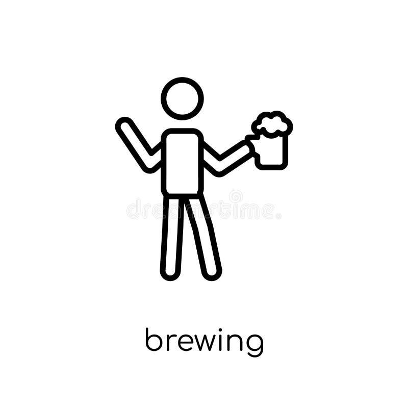 Icône de brassage  illustration libre de droits