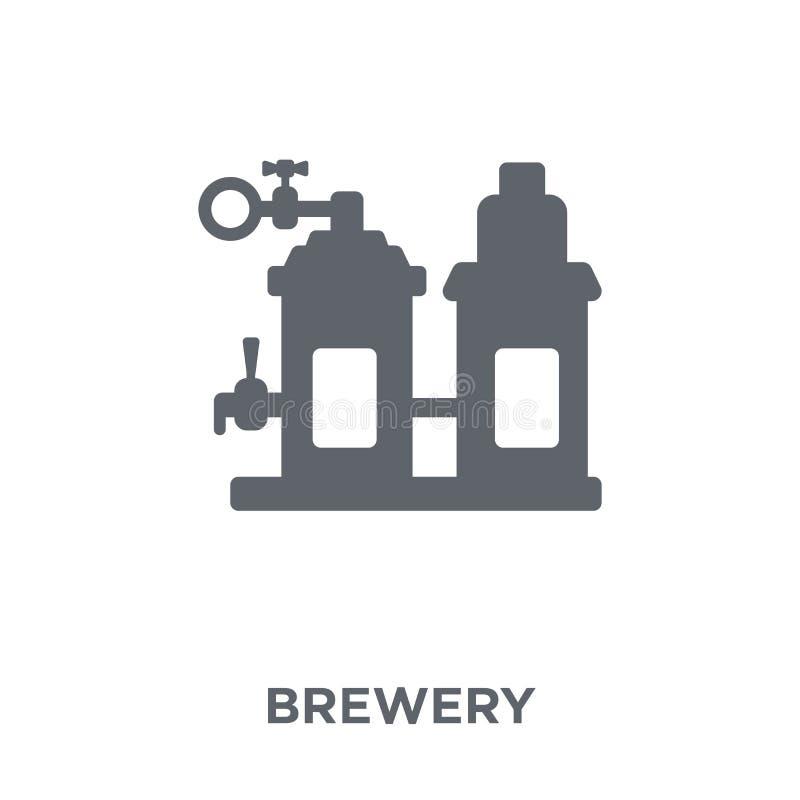 Icône de brasserie de collection de boissons illustration de vecteur