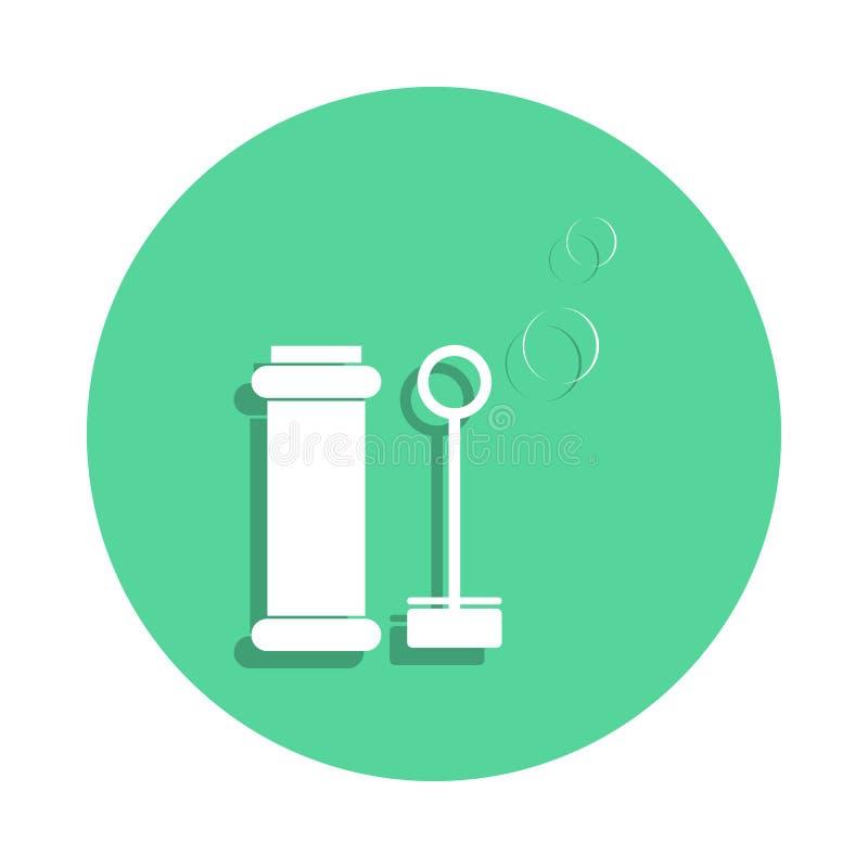 icône de bulles de savon de jouet dans le style d'insigne Un de l'icône de collection de jouets peut être employé pour UI, UX illustration stock