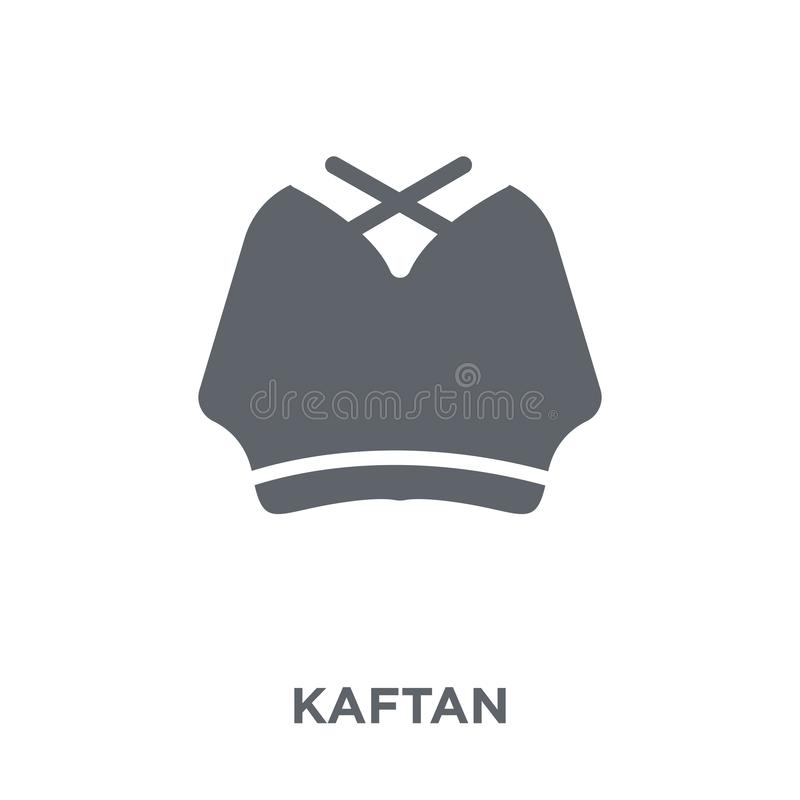 Icône de caftan de collection de caftan illustration de vecteur
