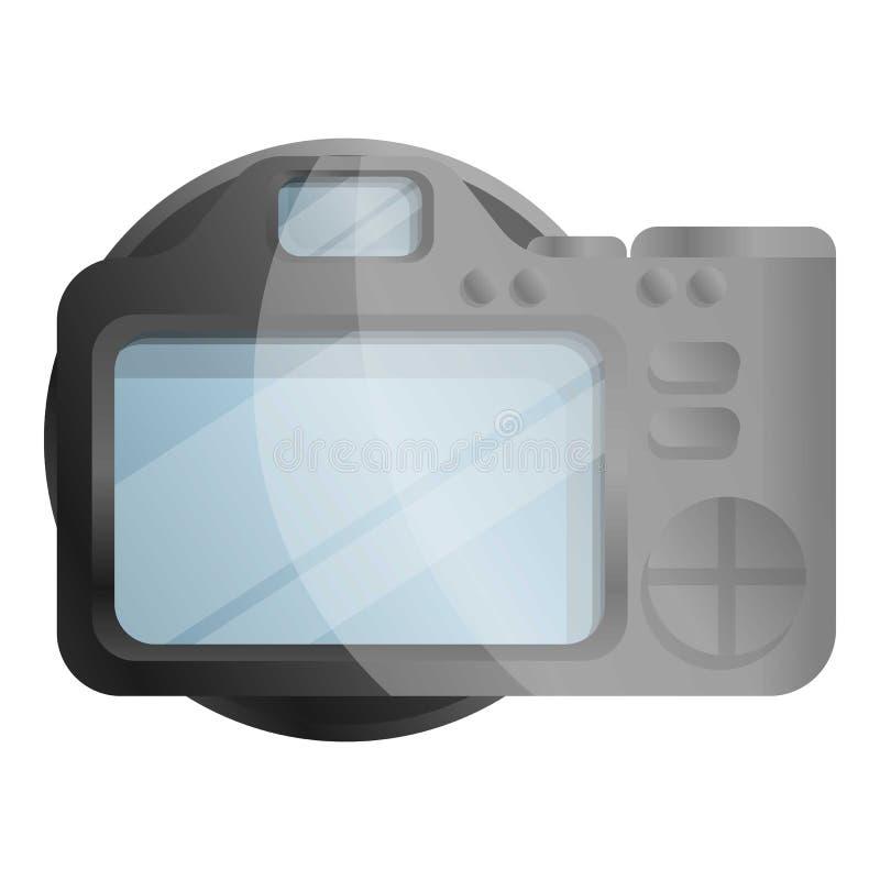 Icône de caméra d'affichage de Tft, style de bande dessinée illustration stock