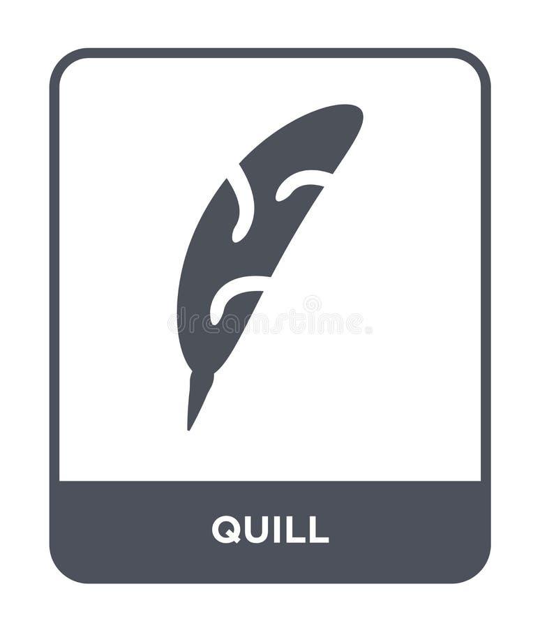 icône de cannette dans le style à la mode de conception icône de cannette d'isolement sur le fond blanc symbole plat simple et mo illustration stock