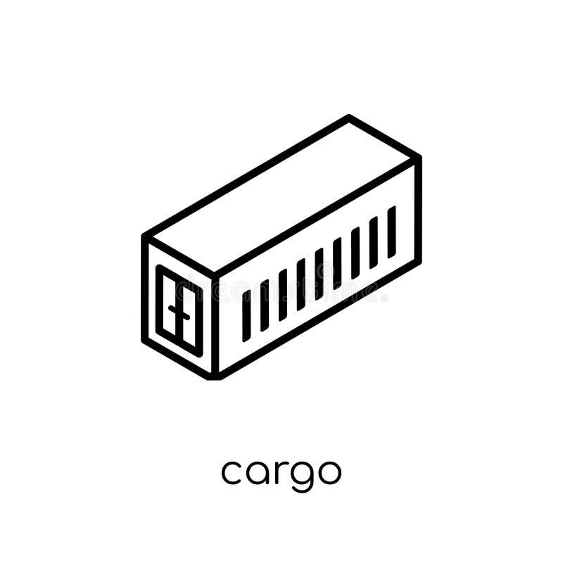 Icône de cargaison de la livraison et de la collection logistique illustration stock