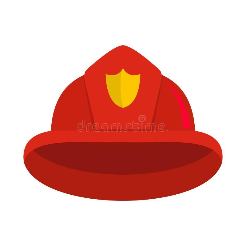 Icône de casque, style plat illustration libre de droits