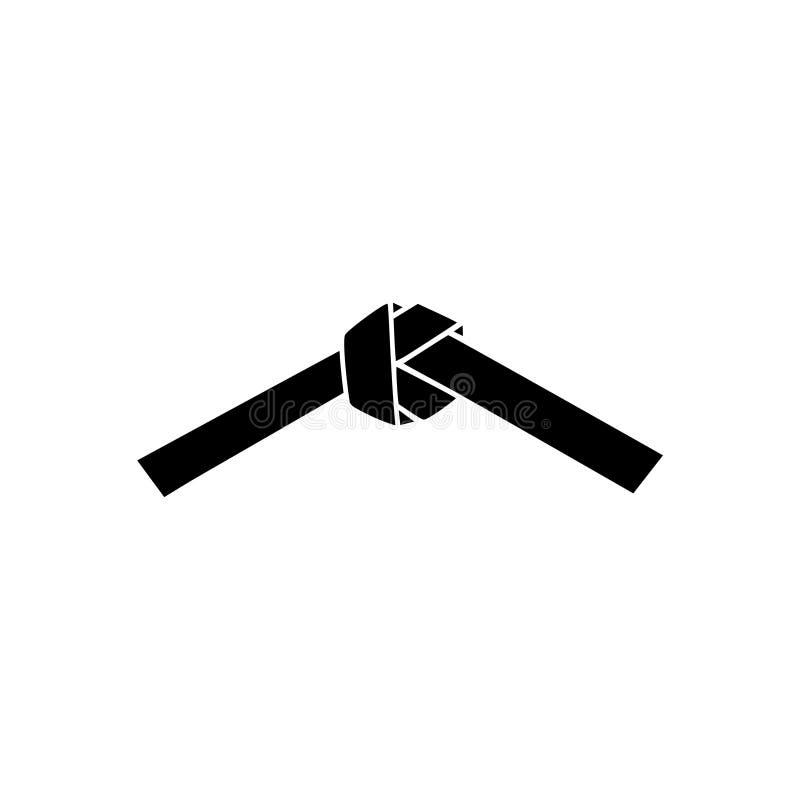 Icône de ceinture de karaté illustration libre de droits