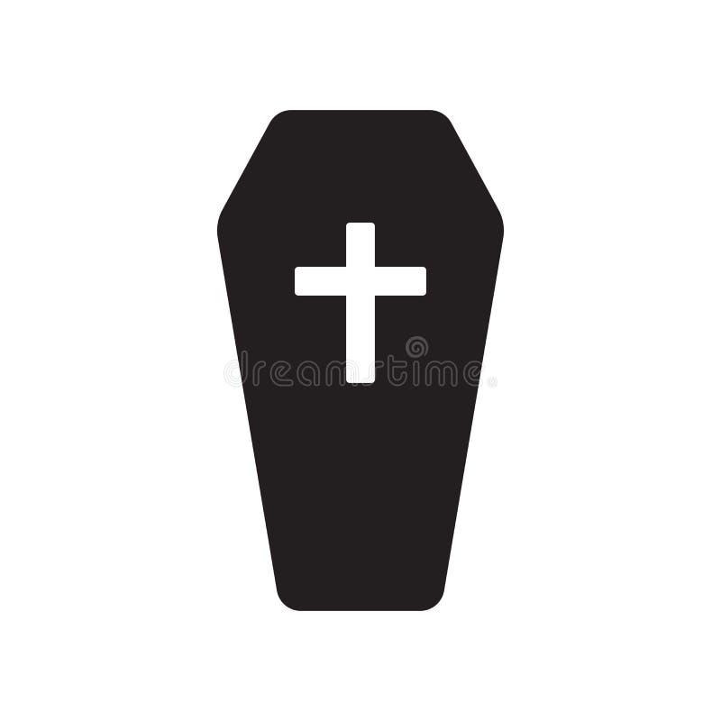 Icône de cercueil  illustration de vecteur
