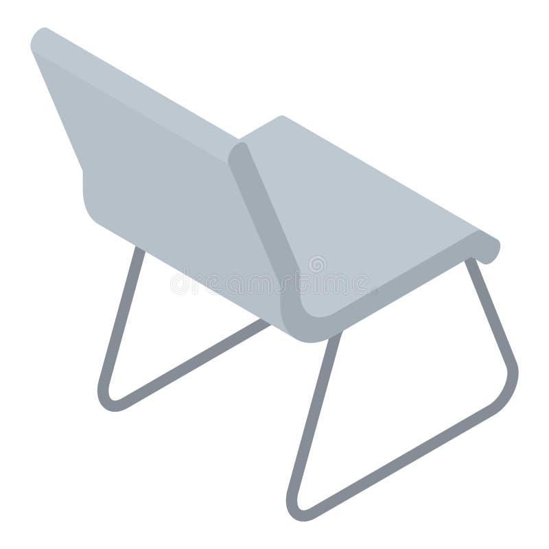 Icône de chaise d'architecte, style isométrique illustration de vecteur