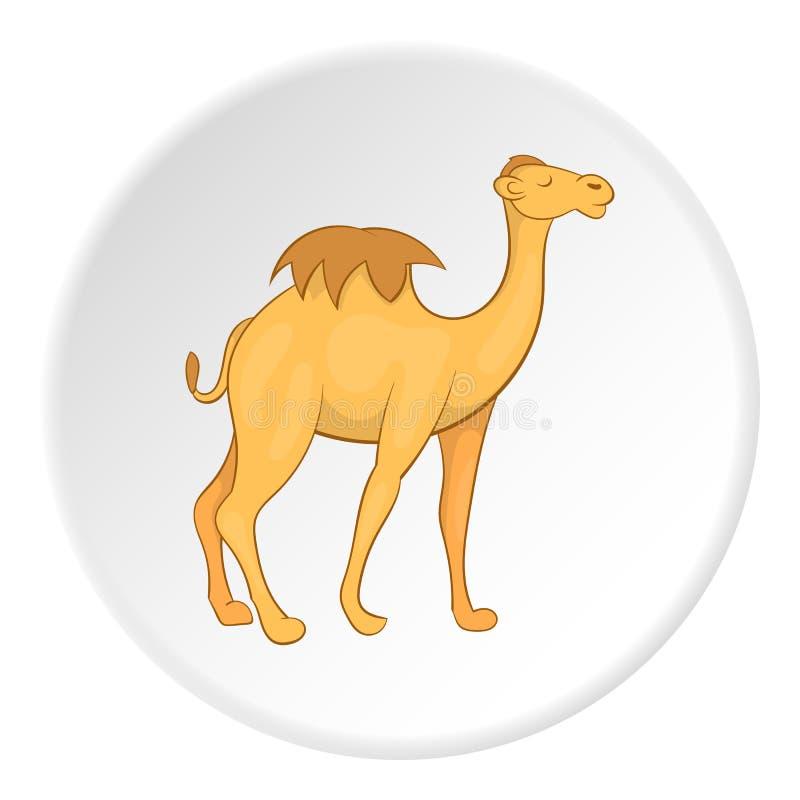 Icône de chameau, style de bande dessinée illustration libre de droits
