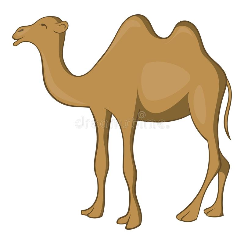 Icône de chameau, style de bande dessinée illustration de vecteur