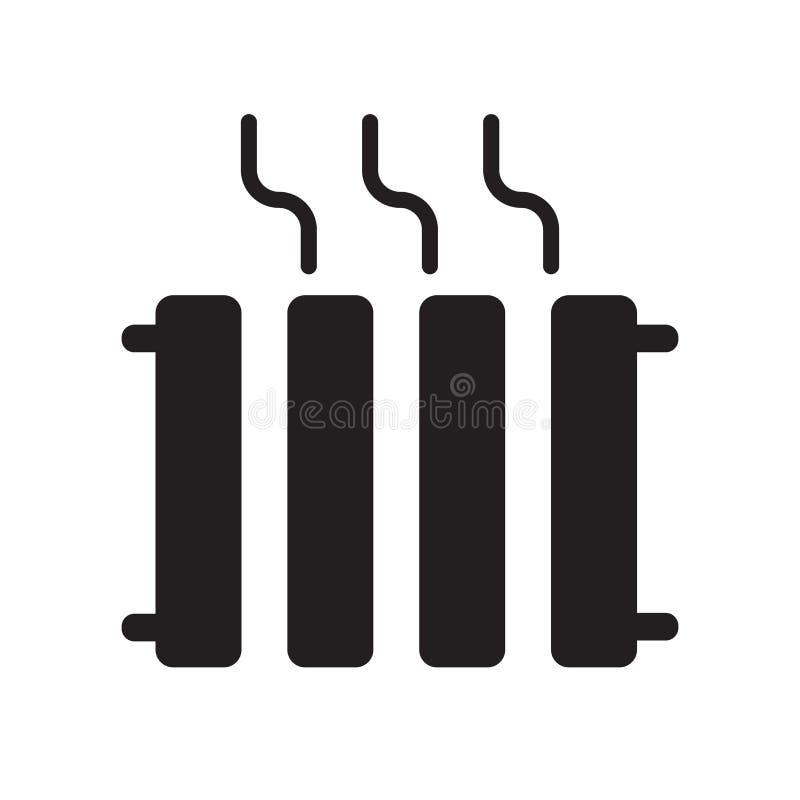 Icône de chauffage  illustration de vecteur