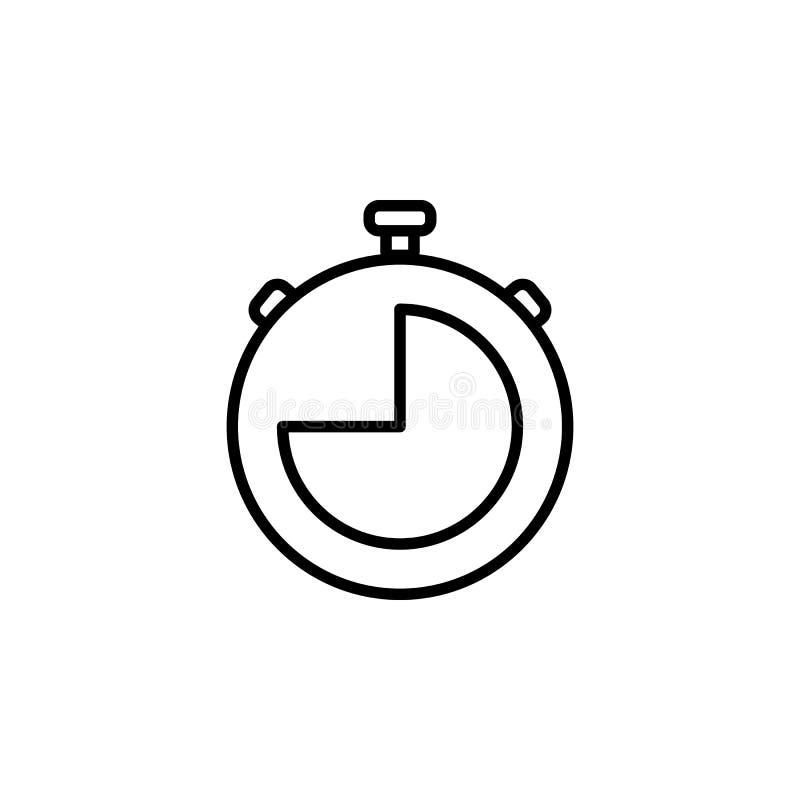 Icône de chronomètre illustration libre de droits