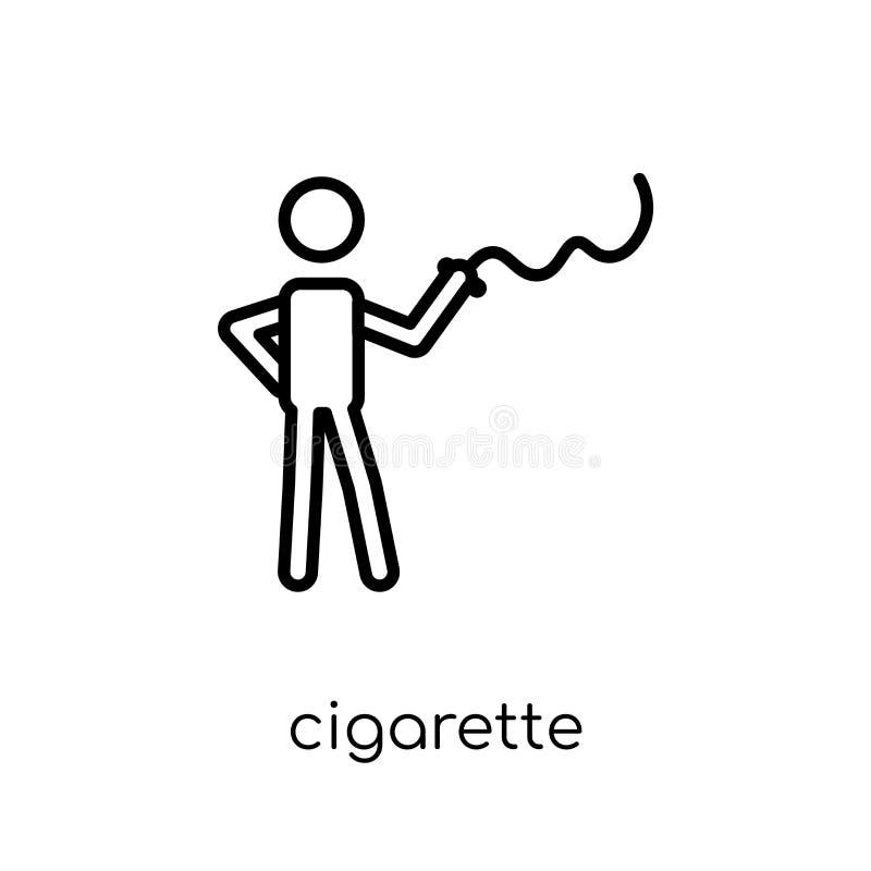 icône de cigarette  illustration libre de droits
