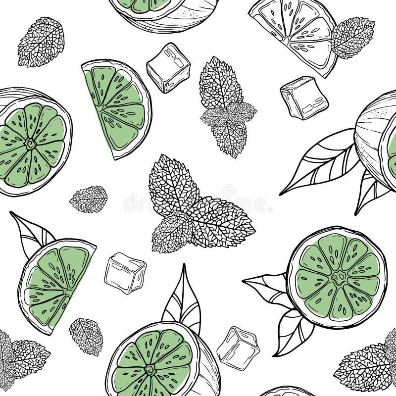 Icône de citrus citrus citronnier jus de citron citron citronnelle illustrée sur fond blanc illustration stock