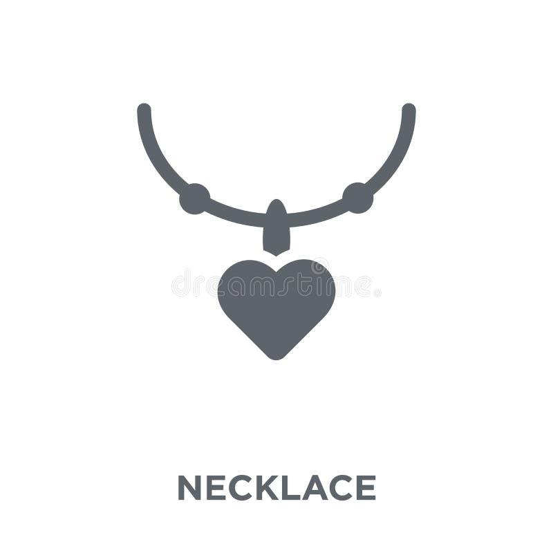 Icône de collier de collection de mariage et d'amour illustration libre de droits