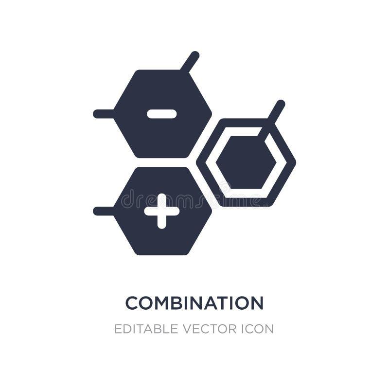 icône de combinaison sur le fond blanc Illustration simple d'élément de concept d'éducation illustration stock