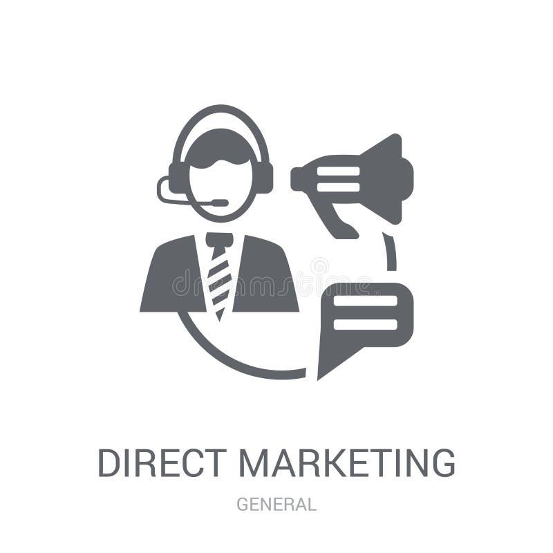 Icône de commercialisation directe  illustration libre de droits