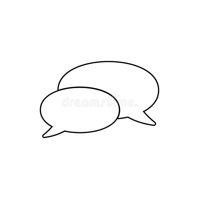 Icône de communion Élément de Web pour le concept et l'icône mobiles d'applis de Web Ligne mince icône pour la conception de site illustration libre de droits