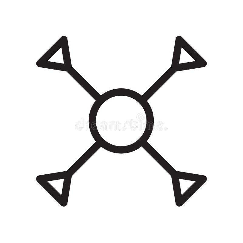 Icône de compréhension d'isolement sur le fond blanc illustration de vecteur