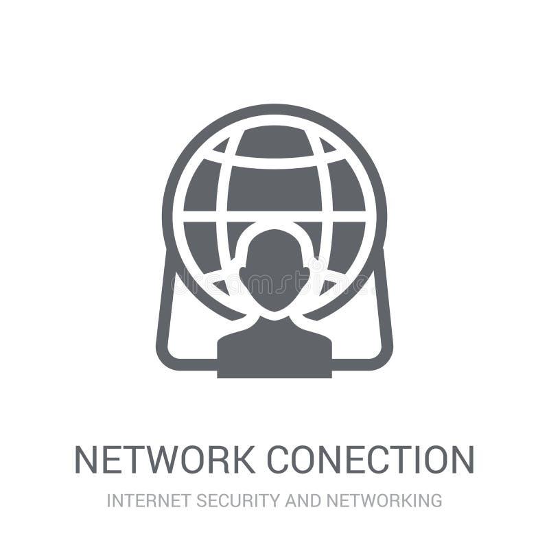 icône de Conection de réseau  illustration de vecteur