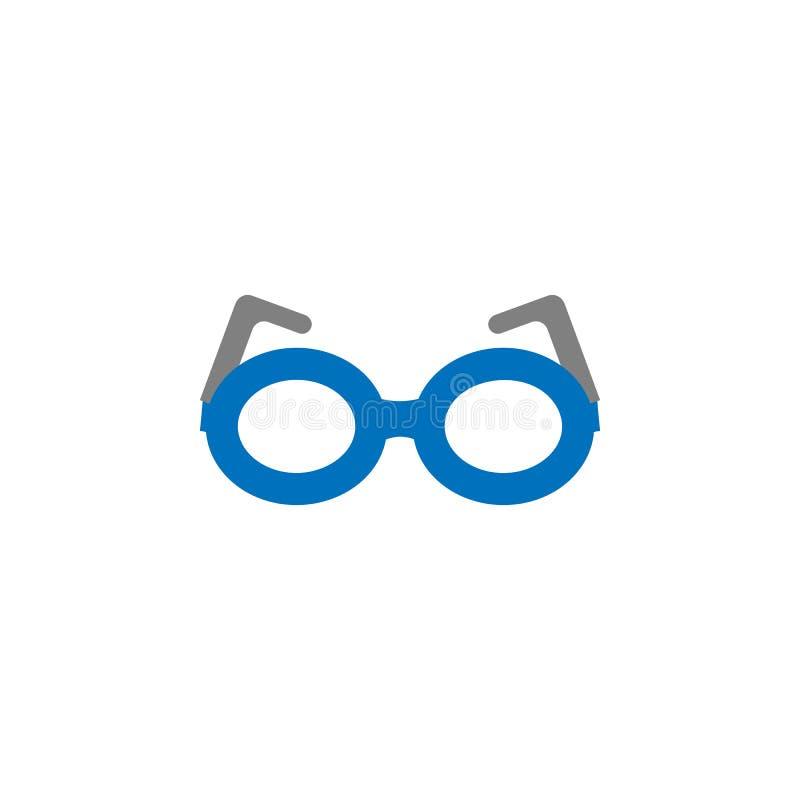 Icône de connaisseur et en verre Élément d'icône d'éducation pour les apps mobiles de concept et de Web L'icône détaillée de conn illustration de vecteur