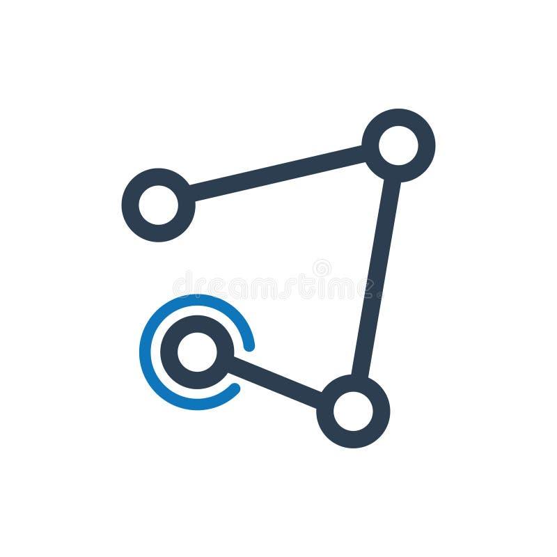 Icône de connectivité illustration de vecteur