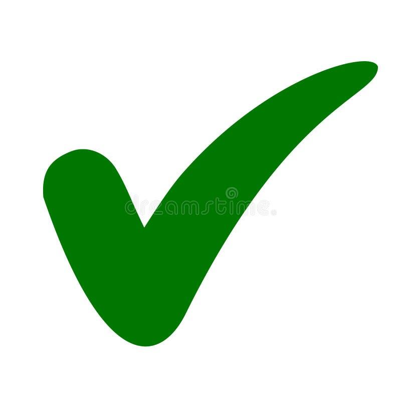 Icône de contrôle d'approbation, signe de qualité - pour des actions illustration de vecteur