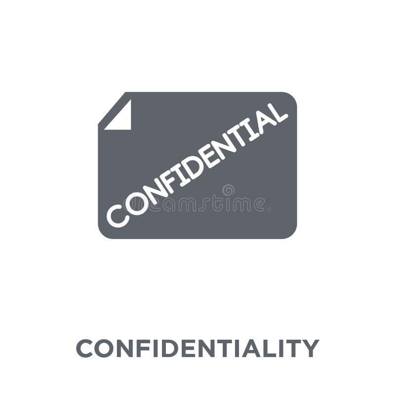 Icône de convention de confidentialité de collection de managemnet de temps illustration stock