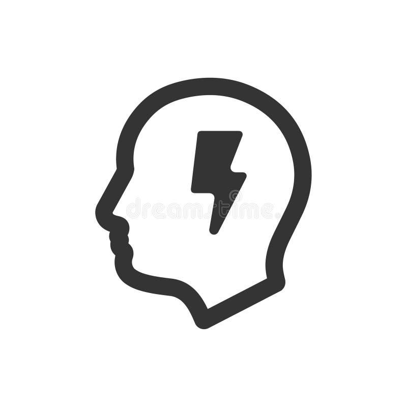 icône de créativité illustration libre de droits