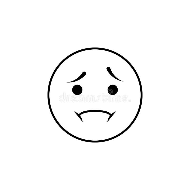 icône de déception Ensemble détaillé d'avatars des icônes de professions De la meilleure qualité conception qualité de symbole gr illustration de vecteur