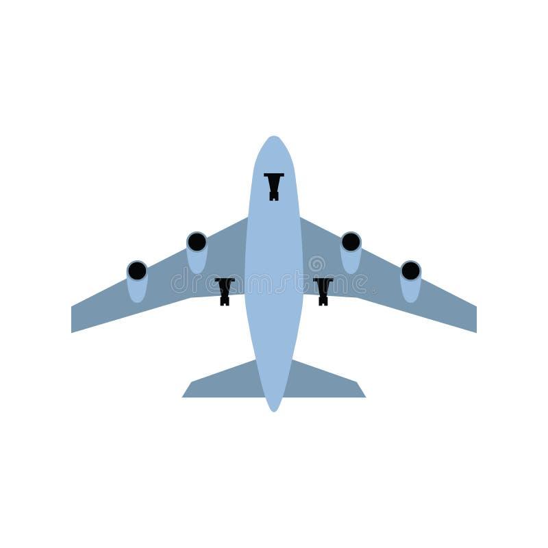 Icône de décollage d'avion illustration libre de droits