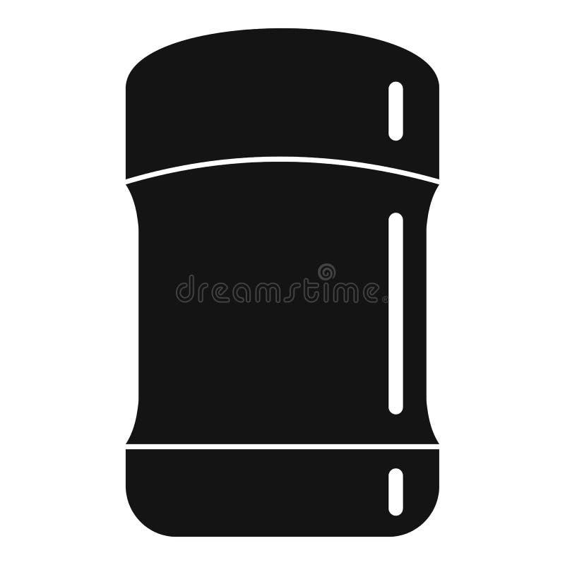Icône de déodorant cosmétique, style simple illustration libre de droits