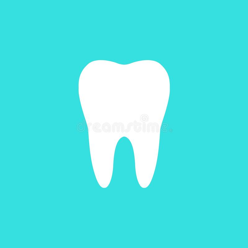 Icône de dent illustration libre de droits