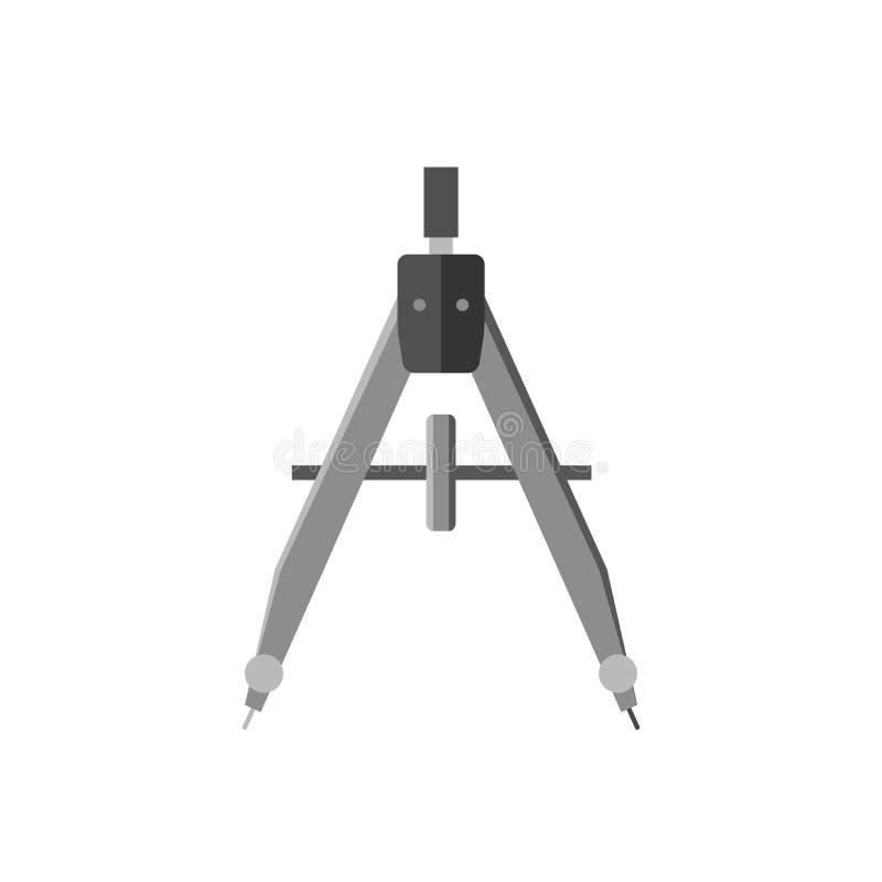 Icône de dessin de diviseur illustration de vecteur