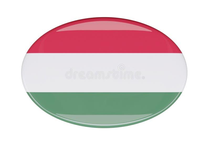 Icône de drapeau illustration stock