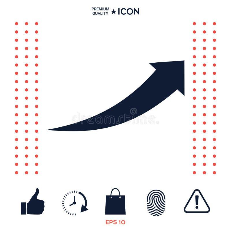 Icône de flèche -  illustration de vecteur