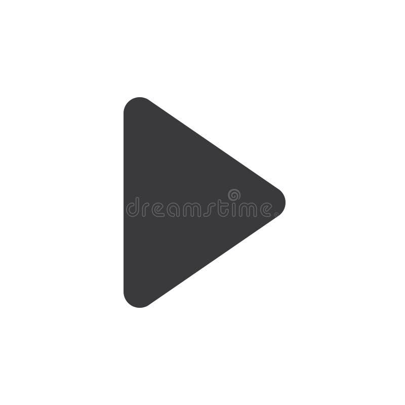 Icône de flèche pixel parfait d'isolement avec le style plat à l'arrière-plan blanc pour UI, APP, site Web, logo Illustration de  illustration de vecteur