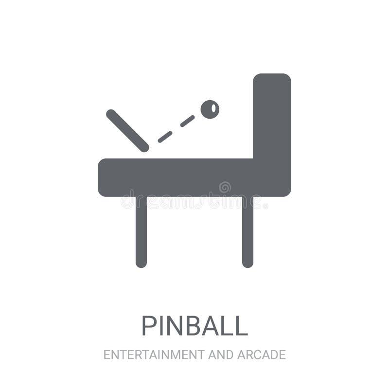 Icône de flipper  illustration stock