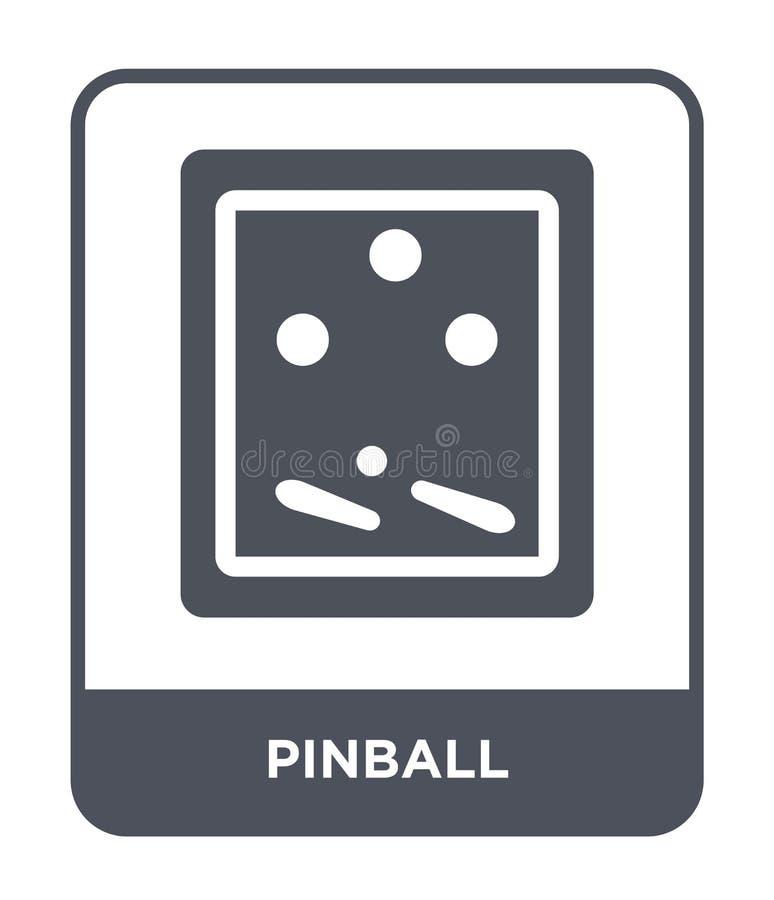 icône de flipper dans le style à la mode de conception icône de flipper d'isolement sur le fond blanc symbole plat simple et mode illustration stock